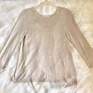 Verve Ami Knit Top Light Sweater